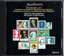 BEETHOVEN: Cello Sonatas & Variations- CD- Melvyn Tan/Anthony Pleeth
