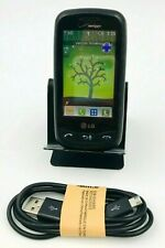 LG VN270 Cosmos Touch Phone Full Qwerty Bundle W USB Charging Cable Clean IMEI