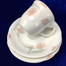 Horizons Royal Albert Tea Trio Cup Saucer Plate 1986 Fantasia Bone China High