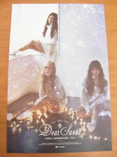 TAETISEO TTS SNSD GIRLS' GENERATION Dear Santa (Green Ver.) CD +2 Unfold POSTER