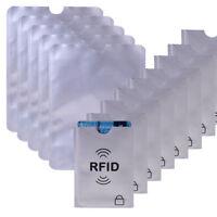 20x Kreditkarte RFID Schutzhülle + 5x Personalausweis Kartenhülle Bankkarte NFC