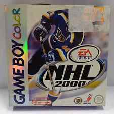 Console GBC Nintendo Gioco Game Boy GameBoy Color Play NHL 2000 EA Sports Nuovo
