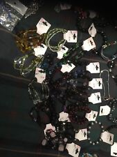 Child Bracelets - Large Job Lot X 200 Mixed styles - Market Stall / Fair + rings
