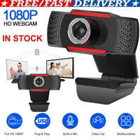 2020 NEW USB Genuine 1080P Webcam Camera Digital w/ Mic For Laptop Desktop aeker