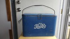 Vintage 1930's-1940's Pepsi Cola Soda Cooler With Insert Rare