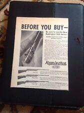 N1-7-7 Ephemera 1940 Remington DuPont Targetmaster USA