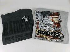 Raiders Shirt T-Shirt NFL 3XL Team Apparel VF Imagewear Graphic Pre-owned