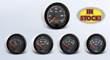 "VDO Vision Black 5 Gauge Kit with 3-3/8"" Speedometer 600-904"