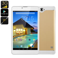 7 inch 3G Android WiFi Tablet 1+8GB Quad Core Phablet Dual SIM Support TF extend