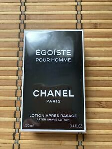 Chanel Egoiste Pour Homme After Shave Lotion  3.4 oz /100 ml/ new &boxed