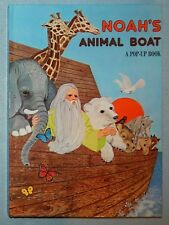 Noah's Animal Boat: A Pop-Up Book by John Strejan (Hardcover) New