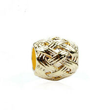 1PCS Gold Charm Alloy  Big Hole Beads fit European  Bracelet DIY-- yk109