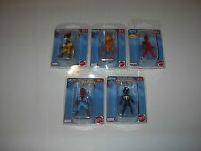 MARVEL SECRET WARS SUPER HEROES MINI BOBBLES 2015 SPIDER-MAN,WOLVERINE,DEADPOOL