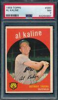 1959 Topps Set Break # 360 Al Kaline PSA 7 *OBGcards*