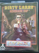 DIRTY LARRY  Atari Lynx NEW DAMAGED BOX  Factory Sealed