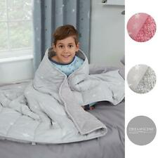 Dreamscene Star Teddy Fleece Weighted Blanket Kids Sleep Therapy Anxiety Throw