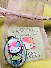 Auténtico Tarina Tarantino Hello Kitty Punk Lolita Collar Encanto Candy Rara!