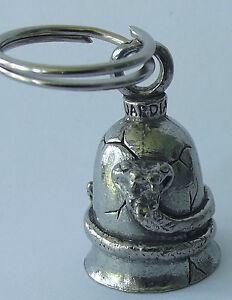 Genuine Guardian Biker Bell ----   Rattlesnake.    --    E030105