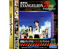 ## SEGA SATURN - Shinseiki Evangelion 2nd inkl. Spinecard (JAP) - NEUWERTIG ##