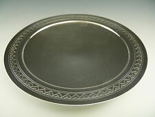 MAPPIN & WEBB Silver Plate - KEITH MURRAY Art Deco Pattern - Low Tazza / Comport