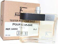 F BY FERRAGAMO POUR HOMME TSTER BOX OR  UN BOX 3.4/3.3 EDT SPR BY S/ FERRAGAMO