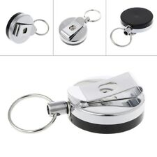 Retractable Rope Keychain Portable Camping Anti Lost Key Ring Safety Buckle