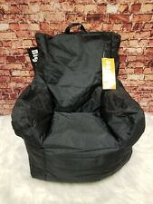 Big Joe Cuddle Kids Chair in SmartMax Fabric Stretch Limo Black