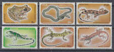 Fidschi-Inseln (Fiji) - Michel-Nr. 548-553 postfrisch/** (Reptilien / Reptiles)