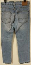 AMERICAN EAGLE OUTFITTERS Relaxed Straight Blue Jeans Size 31x32