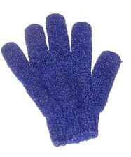 Aquarium Cleaning Glove, Navy Blue, Perfect for Curved Glass. Easy Algae Removal