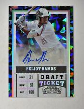 2017 17 Panini Contenders Draft Picks Cracked Ice Auto #48 Heliot Ramos /23