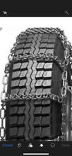 "NEW *V-Bar*COMMERCIAL *7mm* Snow Tire Chains LT235/85R16 LT245/75R16 +17"" 5-5"