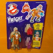 VINTAGE 1986 KENNER THE REAL GHOSTBUSTERS FRIGHT FEATURES RAY STANZ MOC CARDED
