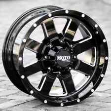 18x10 BLACK wheels MOTO METAL 962 2005-2019 LIFTED FORD F150 Trucks 6x135 -24mm