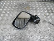 SUZUKI LIANA 2005 NEARSIDE PASSENGER SIDE ELECTRIC WING MIRROR IN BLACK LEFT N/S