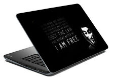 meSleep Quotes Laptop Decal- Laptop Skin- Size-14.1 -15.6 inch-LS-83-015