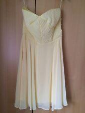 Scarlett B Dorothy Perkins Prom Dress Bridesmaid Dress Size 10 Yellow