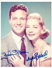 Robert Stack / Lauren Bacall  Autograph, Original Hand Signed Photo