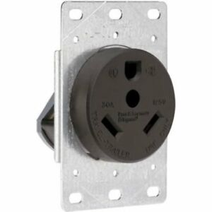 Pass  Seymour Industrial Strength Flush-Mount Power Outlet for RVs