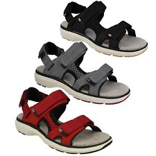 LADIES CLARKS UNSTRUCTURED LEATHER CASUAL SPORTS SANDALS SHOES SIZE UN ROAM STEP