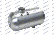 Rat Rod Gas Tank - 5 Gallons Spun Aluminum - 8 X 20 Inch - Billet Cap - USA Made