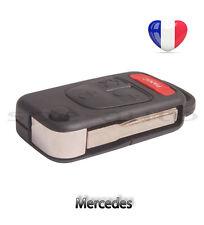plip coque clé télécommande Mercedes Benz 3 boutons W124 W168 W208 W210 + PANIC