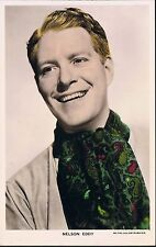 MGM COLOURGRAPH HANDCOLOURED RP POSTCARD NELSON EDDY