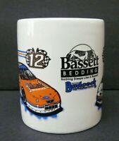Bassett Bedding Badcock Home Furnishings Nascar Racing Coffee Cup Mug