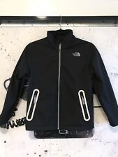 North Face Jacket - Boys Black - Fleece Lined, Reflective - Size M