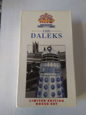 Doctor Who 30th Anniversary 1963-93 The Daleks VHS, 2000 2 Tape Set & The Chase