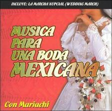 Musica Para Una Boda Mexicana by Mariachi Santa Cecilia (CD, 2004)