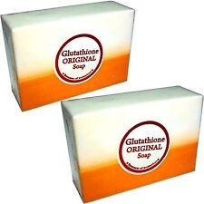 2x Glutathione + Kojic Acid 2in1 Soap Bars Skin Whitening Bleaching Gluta Papya