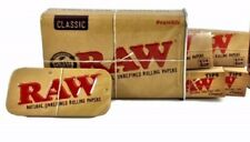 Raw Sliding Tin Bundle with 2 Packs Raw Natural 1 1/4 Rolling papers 2 raw tips