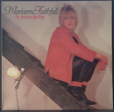 MARIANNE FAITHFULL - AS TEARS GO BY 1981 DECCA TAB 13 OZ VINYL GREAT CONDITION